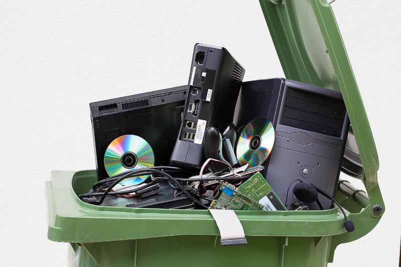 Recyclage de déchets informatiques